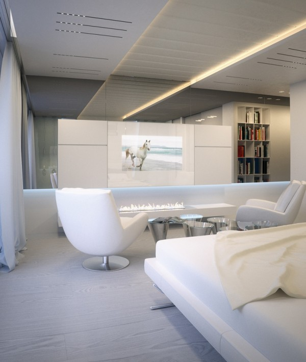 Alexander-Lysak-Visualization-Bedroom-white-flatscreen-and-ethanol-fireplace-600x710
